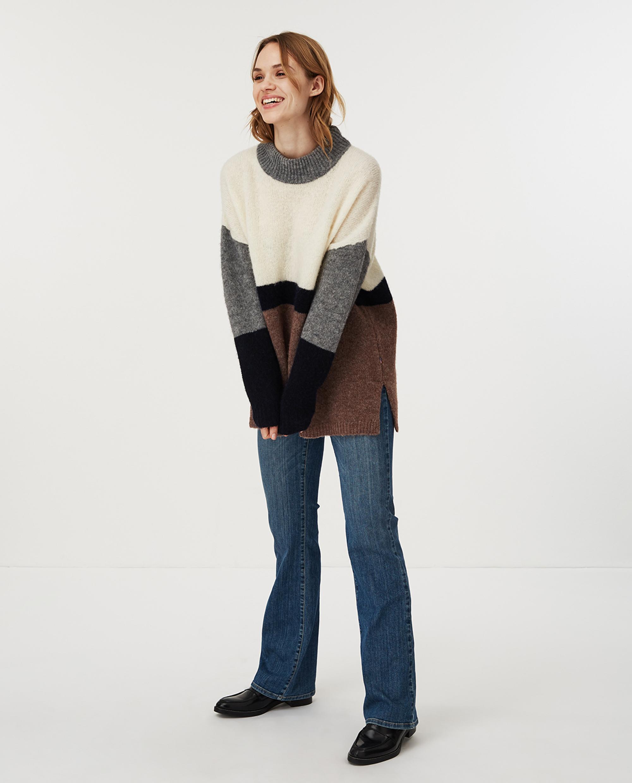 Talula Sweater, Multi Stripe