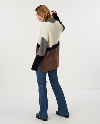 Talula Sweater, Multi Stripe
