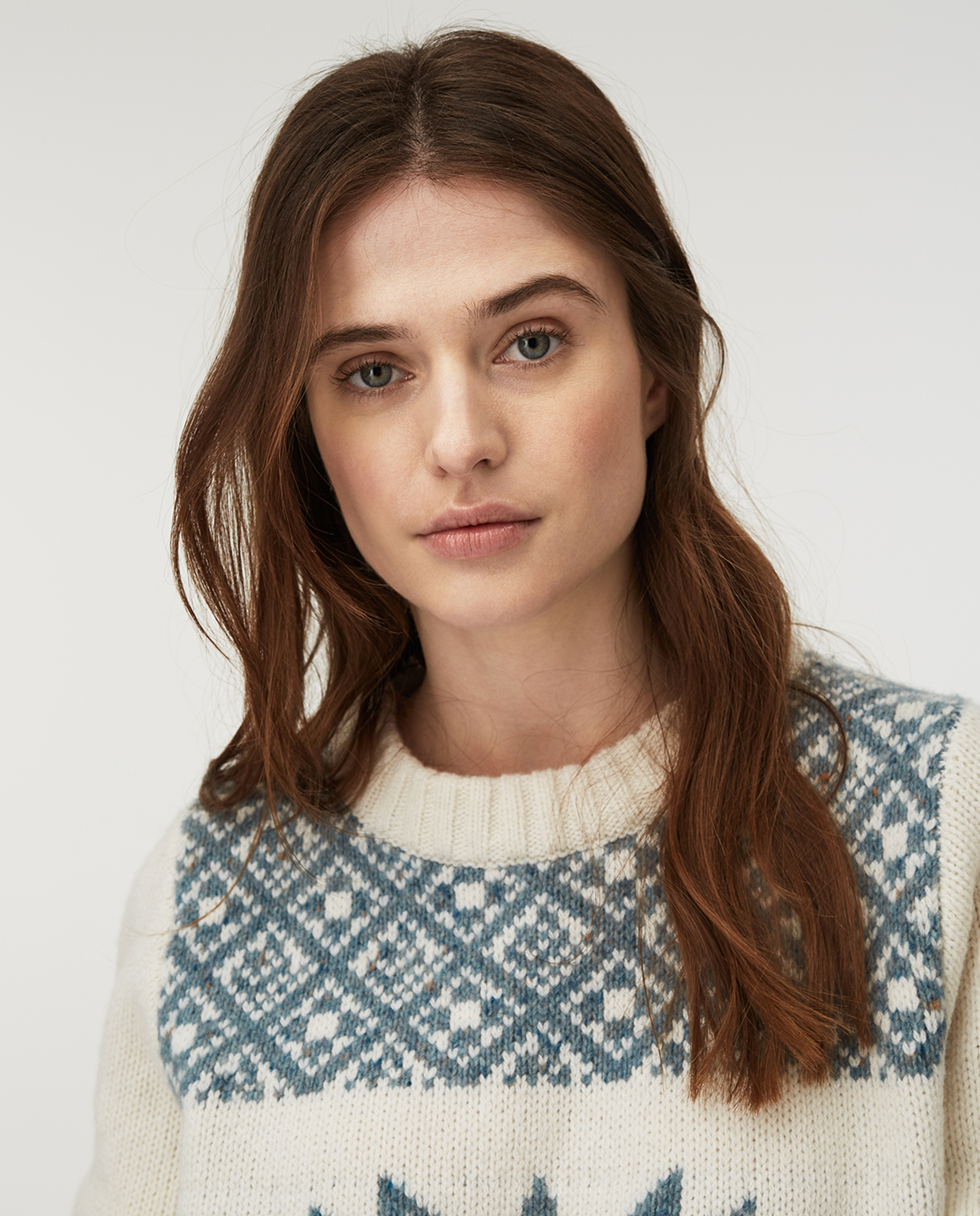 Fiona Sweater, White