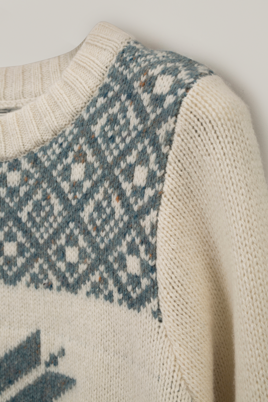 Fiona Sweater, White