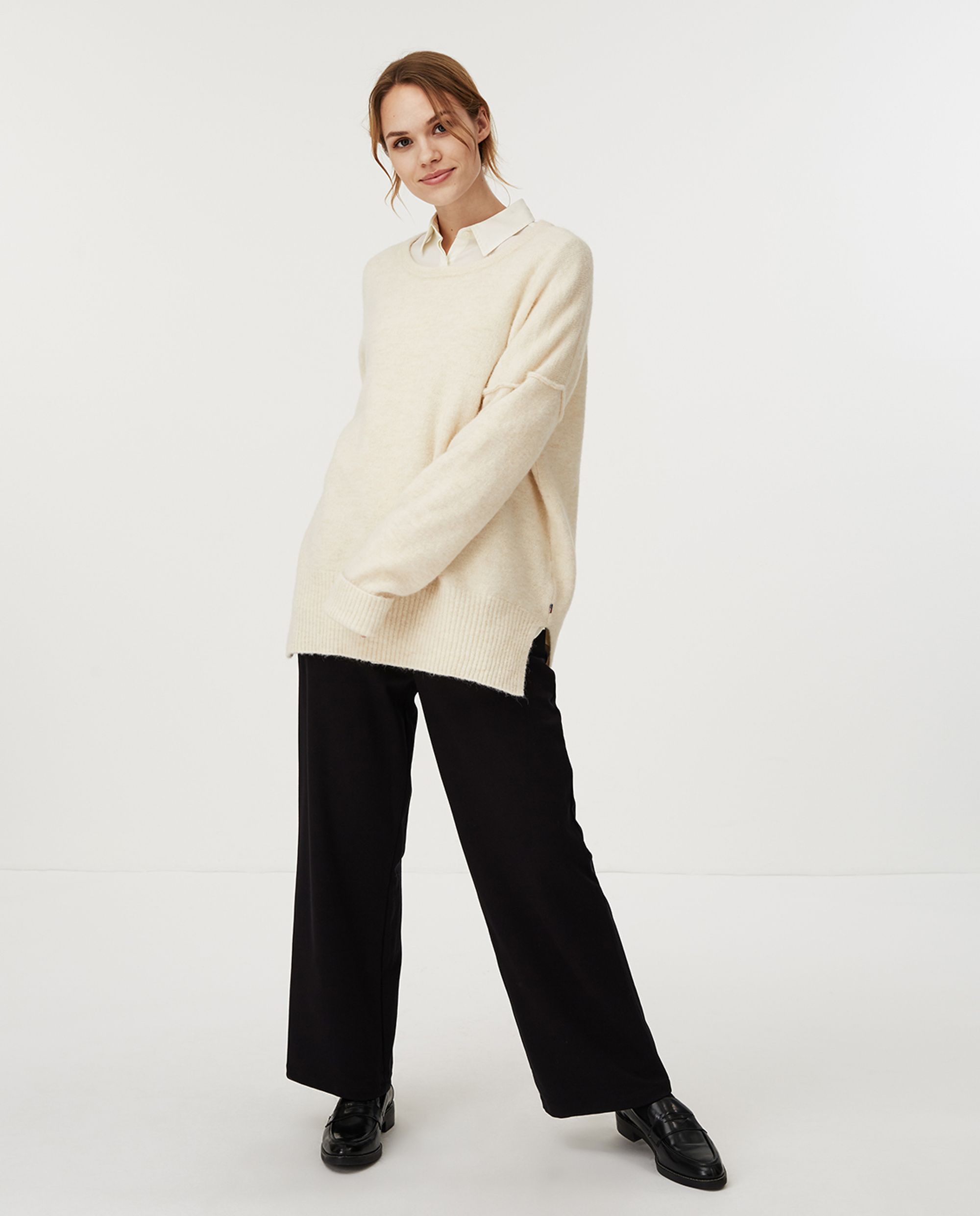 Eleonora Sweater, White