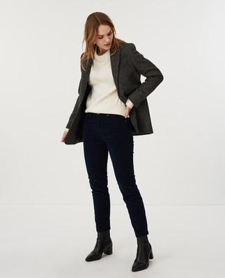 Zoe Corduroy Pants, Blue