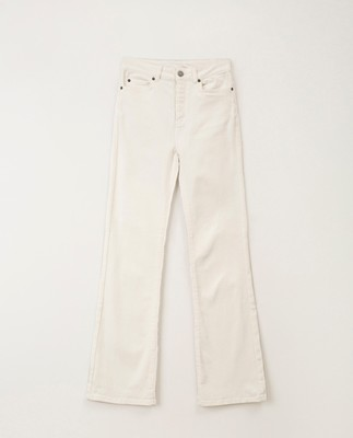 Shelley White Bootcut Jeans, White