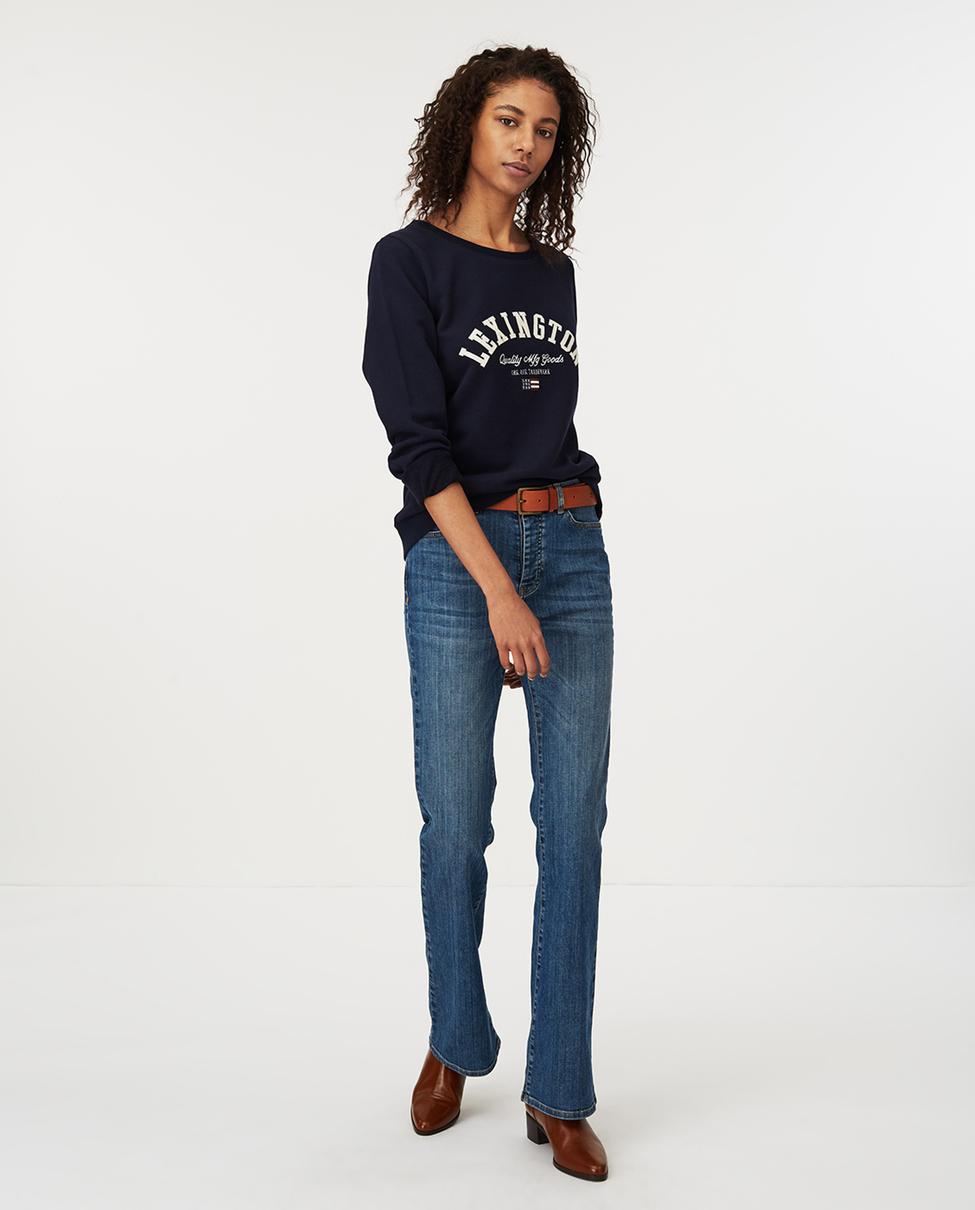 Chanice Sweatshirt, Dark Blue