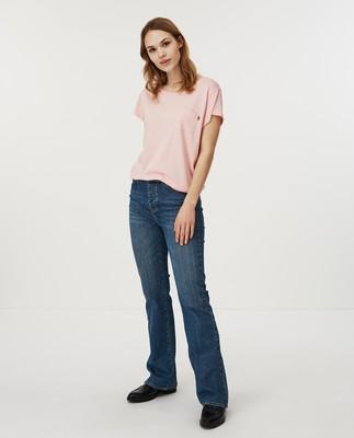Ashley Jersey Tee, Pink