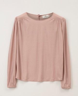 Lilja Jersey Blouse, Pink