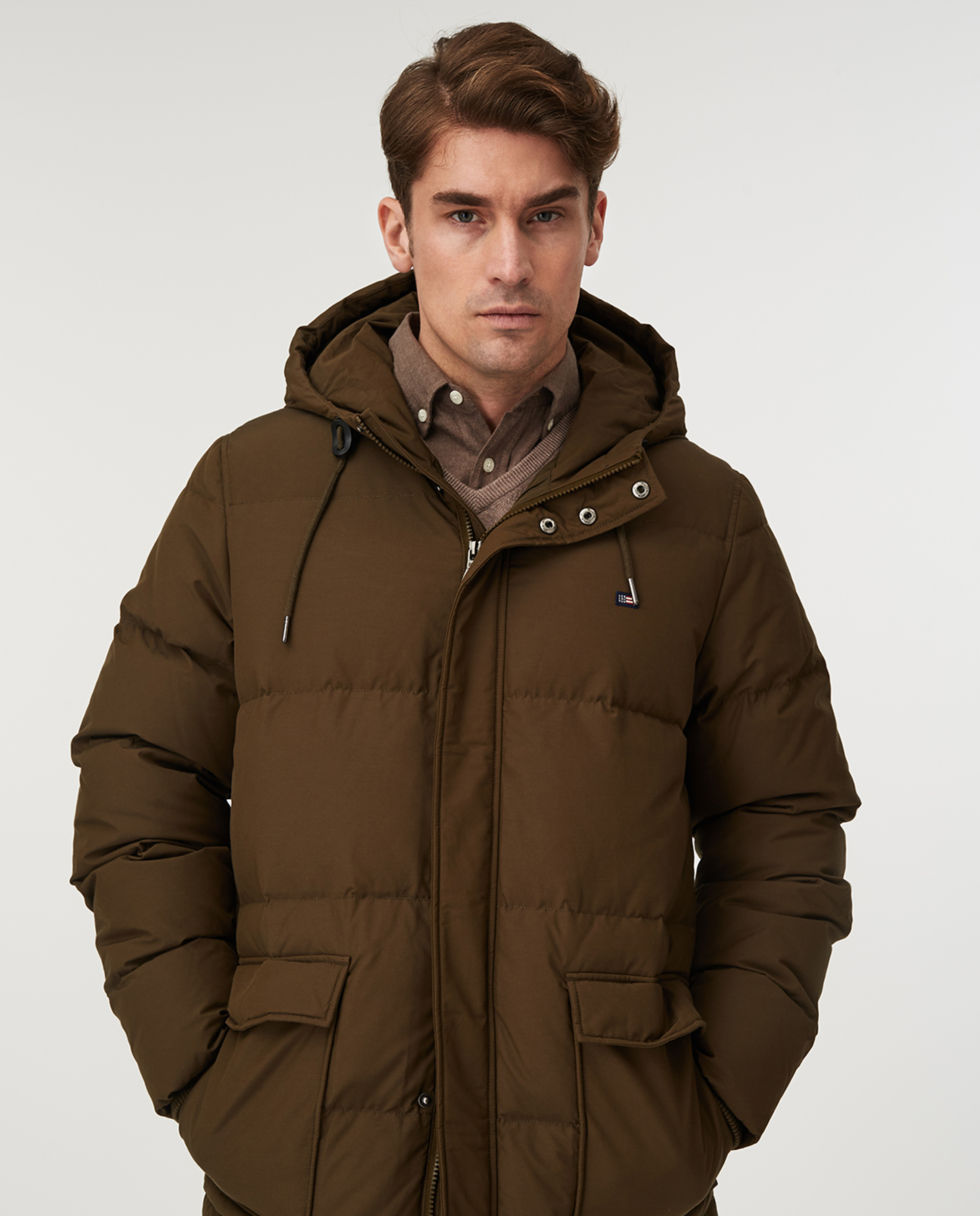 Dave Down Jacket, Green
