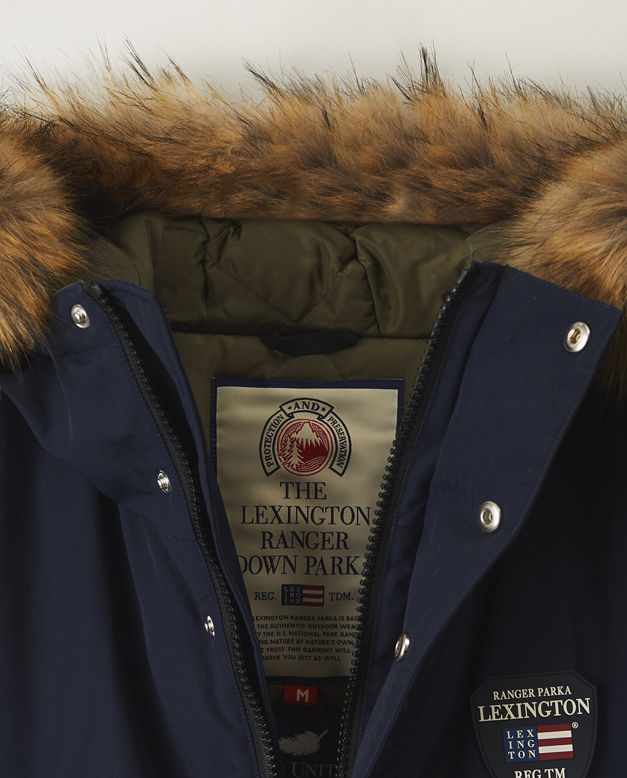 Madison Down Parka, Dark Blue