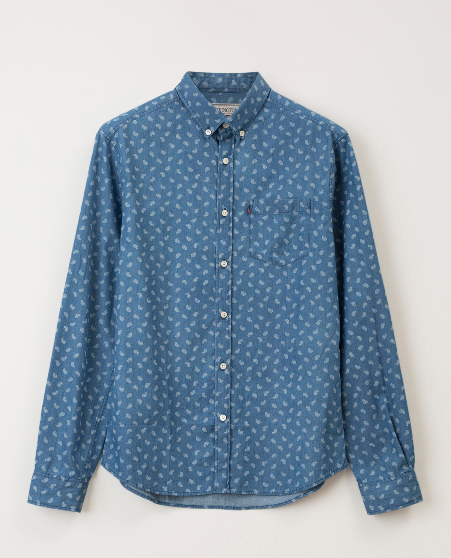 Clive Printed Shirt, Paisley