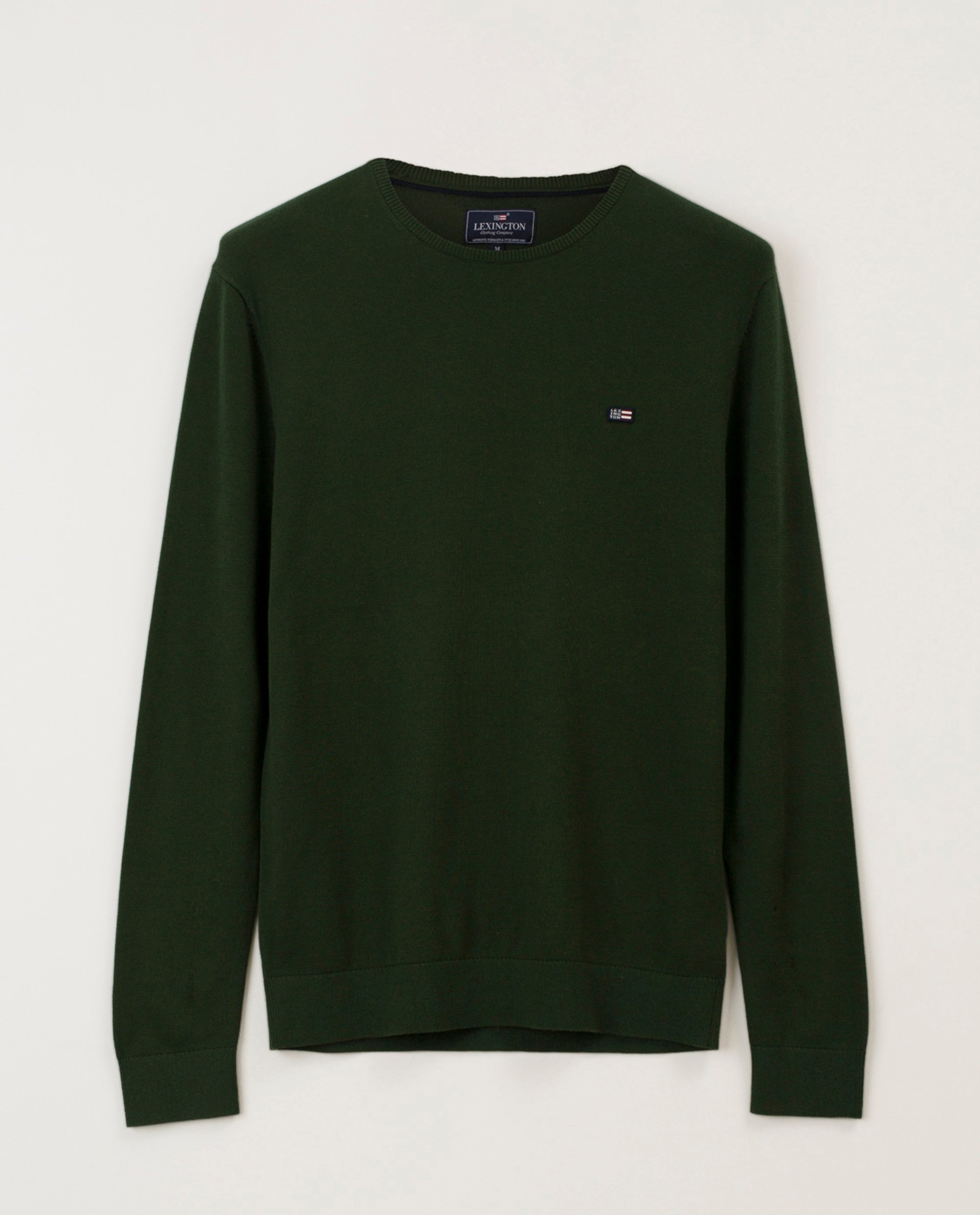 Bradley Crew Neck Sweater, Green