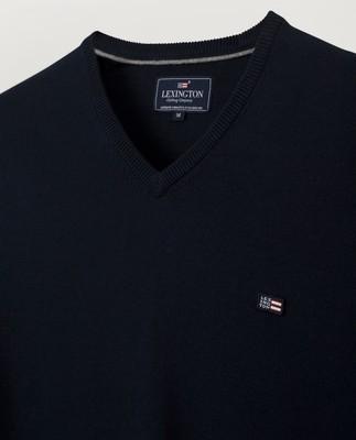 Allen V-Neck Sweater, Black