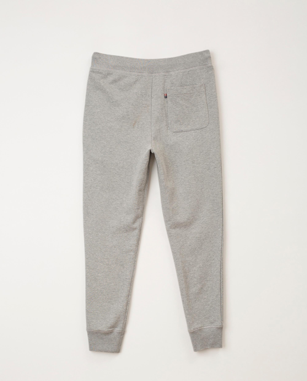 Ivan Track Pants, Gray Melange