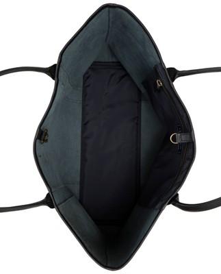 Mayflower Leather Tote Bag, Black