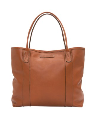 Mayflower Leather Tote Bag, Light Cognac