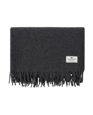 Aurora Wool Scarf, Dark Gray Melange