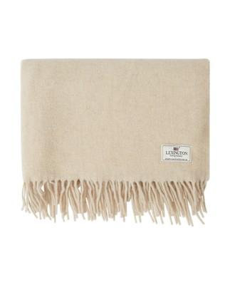 Aurora Wool Scarf, Light Beige Melange