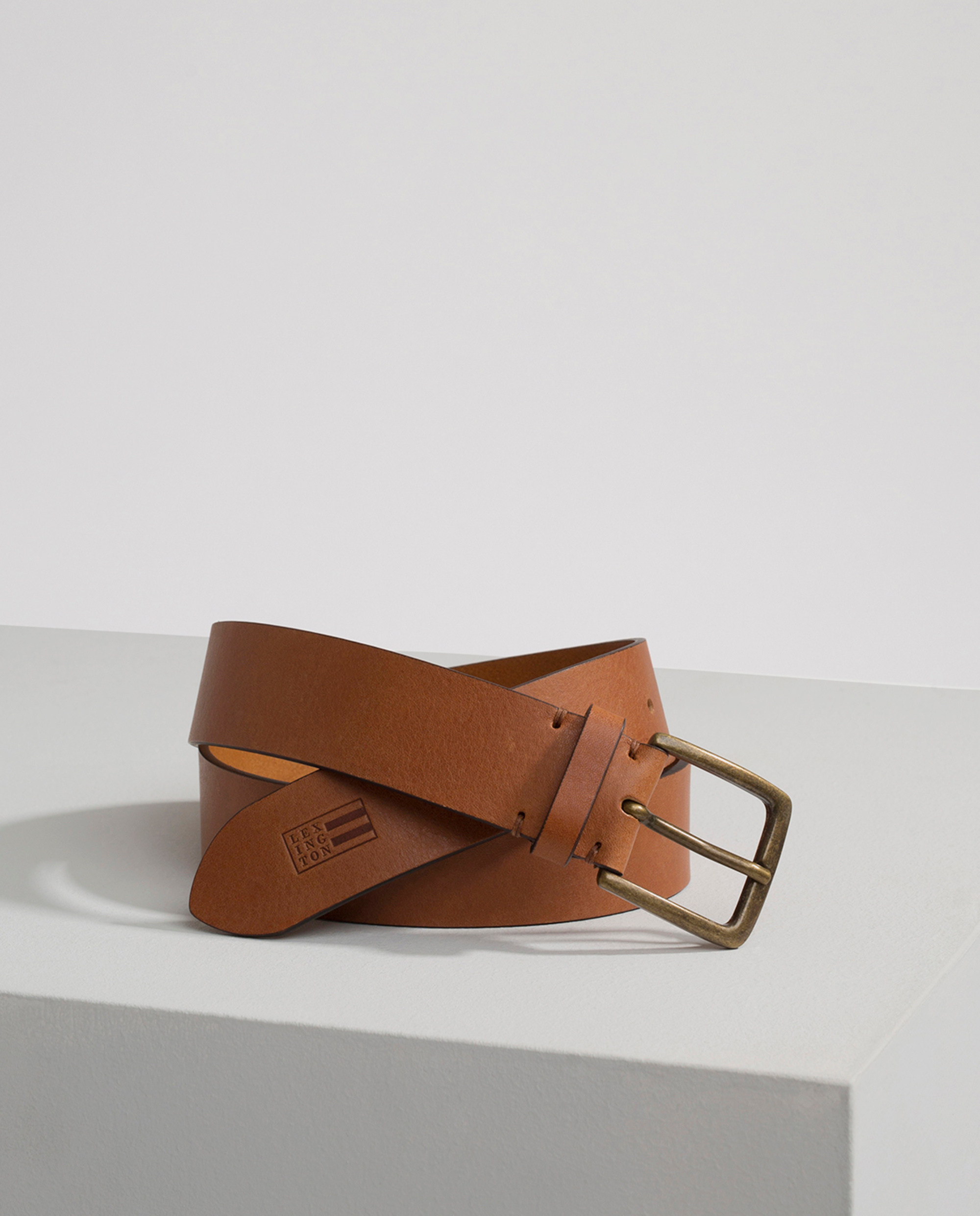 Greenville Leather Belt, Cognac