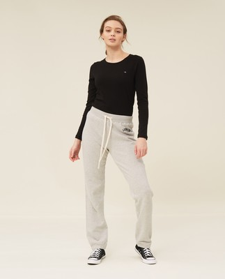 Jenna Pants, Grey Melange