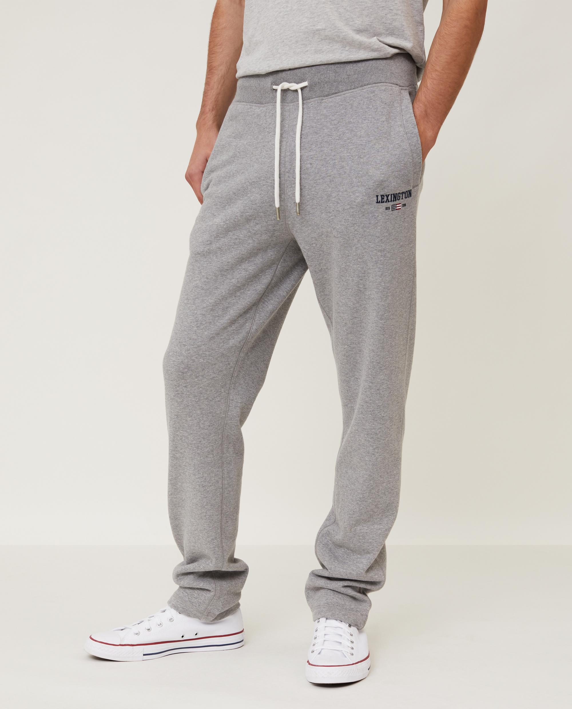Brandon Jersey Pants, Gray Melange