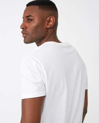 Travis Organic Cotton Tee, White