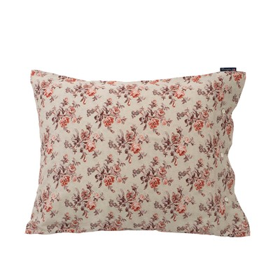 Printed Floral Sateen Pillowcase, Autumn Floral