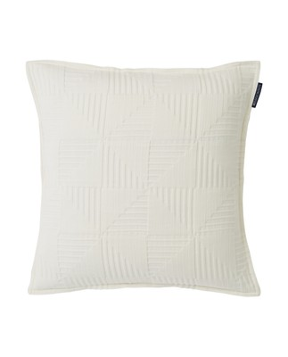Fall Jacquard Cotton Sham, Creme
