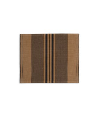 Fall Striped Placemat, Beige