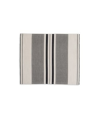 Striped Placemat, White