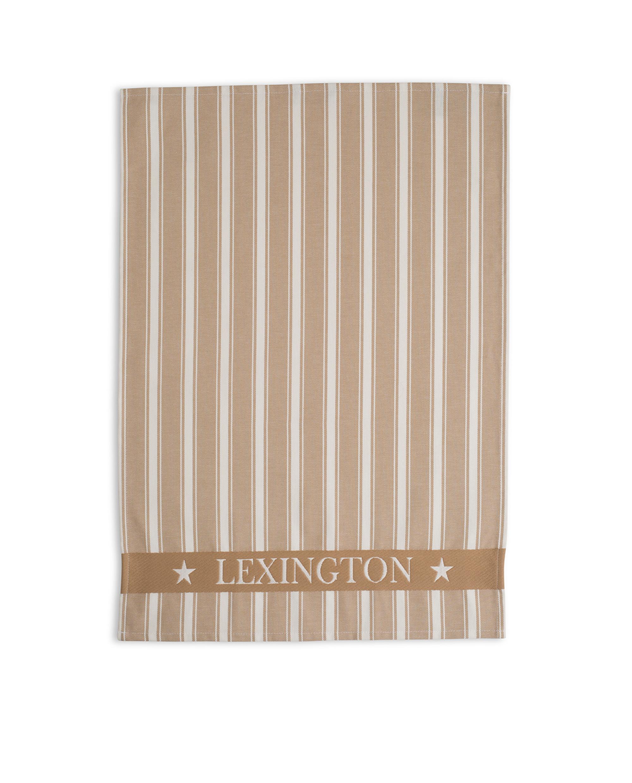 Fall Lexington Striped Kitchen Towel, Beige