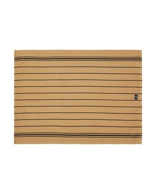 Striped Kitchen Towel, Beige