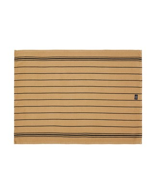 Fall Striped Kitchen Towel, Beige