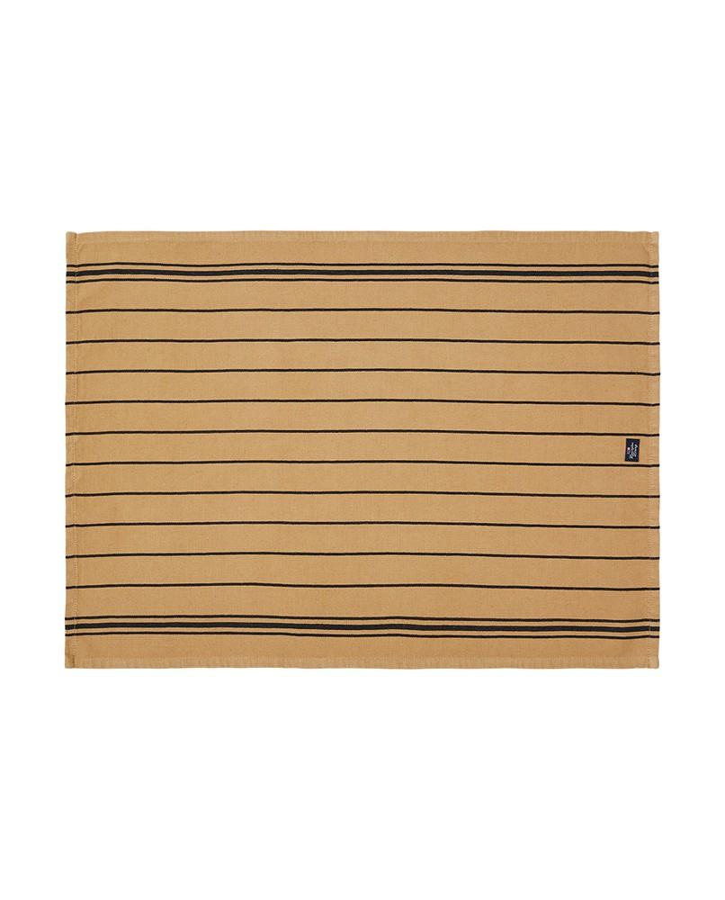 Striped Kitchen Towel Beige