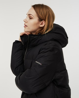 Nora Down Parka, Black