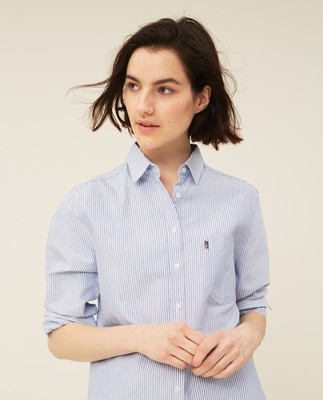 Isa Organic Cotton Oxford Shirt
