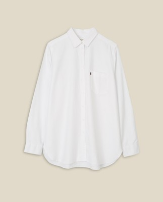 Edith Lt Oxford Shirt, White