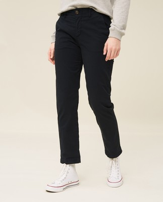 Flora Chinos, Dark Blue