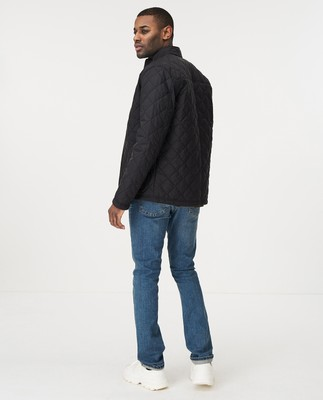 Hector Quilted Jacket, Black