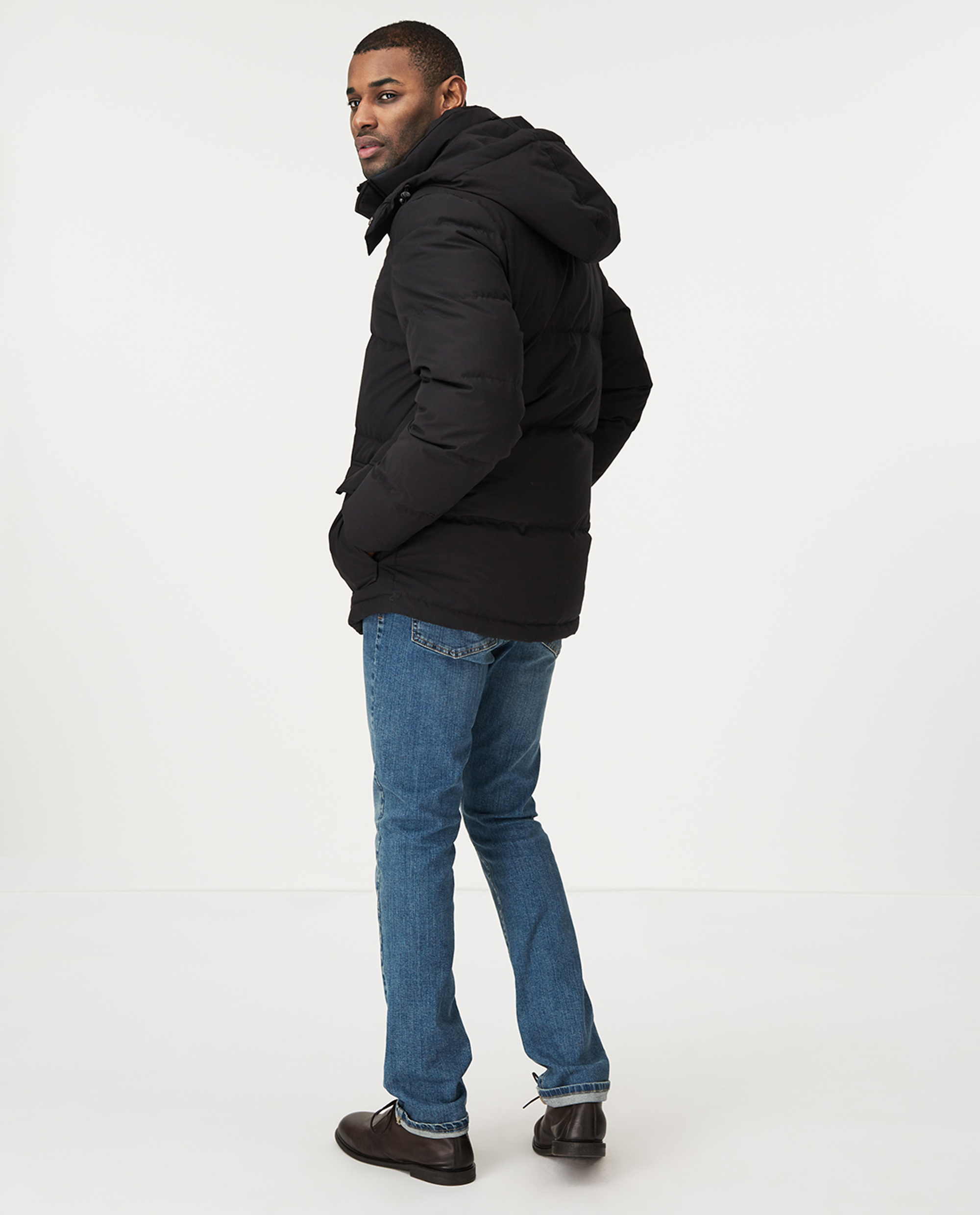 Dave Down Jacket, Black