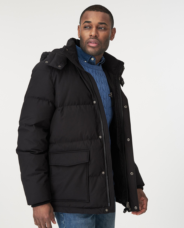 Dave Down Jacket, Black