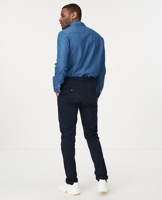 Steven Chinos, Navy Blue