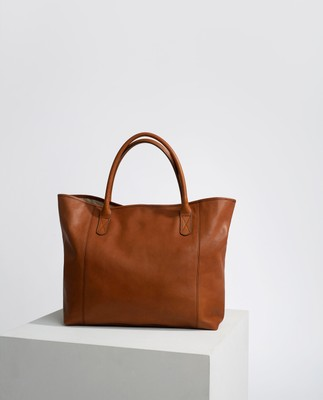 Willow Tote, Brown