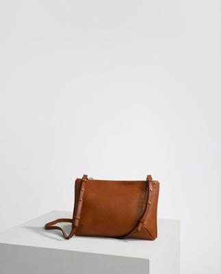 Trudy Zip Bag, Brown