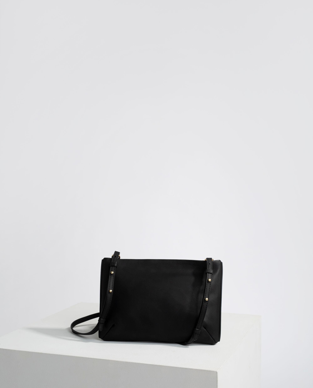 Trudy Zip Bag, Black