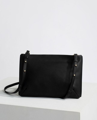Trudy Zip Bag, Black