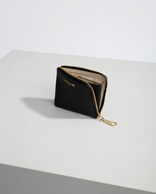 Meadow Zip Wallet, Black