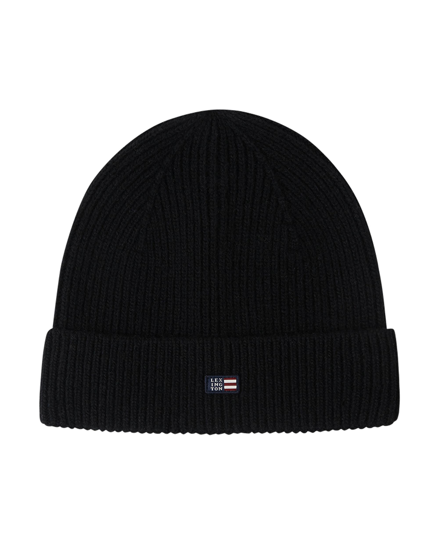 Stockton Wool Beanie, Black