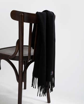 Massachussets Scarf, Black