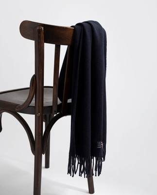 Massachussets Scarf, Dark Blue