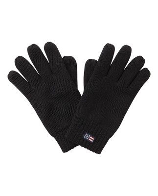Connecticut Knitted Gloves, Black