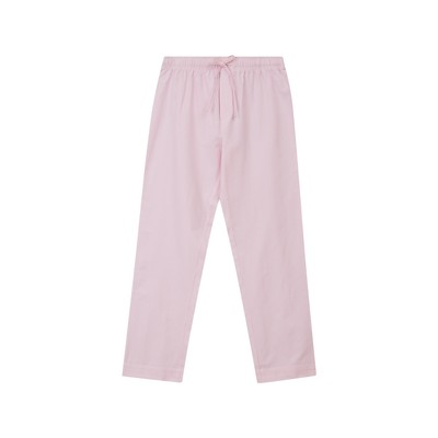 Organic Cotton Pajama Set, Pink/White